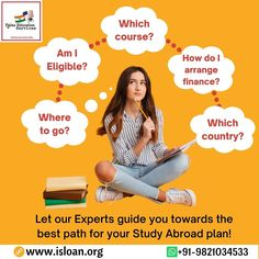Paras education services is backbone of your financial support,choose us and let us guide you step by step in your dreams. For all your queries contact us on:- Visit our website and get yourself registered-www.isloan.org Email us on- info@isloan.org Study Abroad, Finance, Dreaming Of You, Dreams, Good Things, Let It Be, Education, How To Plan, Website