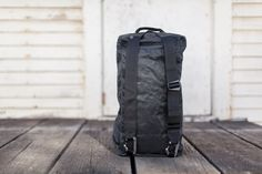 SDR traveler D3 Traveller Ultralight, strong and discreet duffel that packs down to the size of a sweater.