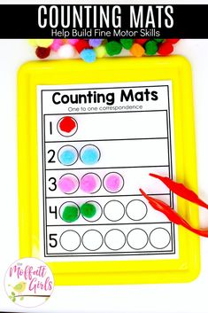 Preschool Math: Teach Numbers in FUN, hands-on ways! Preschool math needs to be engaging, hands-on and fun! Here are TONS of ways to help young students learn numbers Number recognition, order and more! Teaching Numbers, Numbers Kindergarten, Math Numbers, Preschool Learning Activities, Counting Activities, Preschool Education, Preschool Curriculum, Elementary Education, Homeschooling