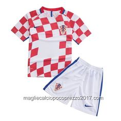 maglie calcio home Bambini Croazia 2016