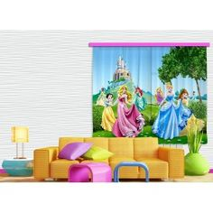 Hercegnők, palota függöny, blackout (280 x 245 cm)