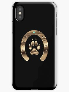 """""""Horse shoe and canine paw print"""" iPhone Case & Cover by 3d Iphone Cases, Cute Phone Cases, Iphone Case Covers, Country Phone Cases, Horse Jewelry, Western Jewelry, Mobile Covers, Iphone Accessories, Protective Cases"""