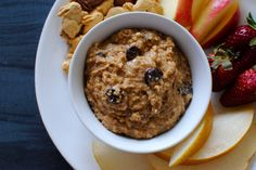 This high protein, high fiber chocolate chip hummus dip is a perfect afternoon snack, sure to be enjoyed by everyone since it tastes more like cookie dough than hummus! A few weeks ago I visited my friend Kari and her brand newbaby. While I loved chattingwith Kariandsnuggling hersweet baby boy, I have to say the...Continue Reading »