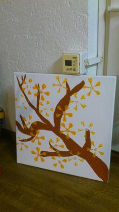 Lauras erstes Gemälde