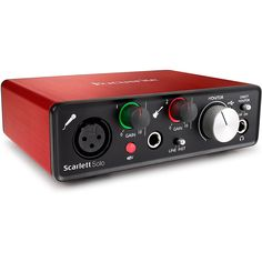 Focusrite Scarlett Solo (2nd Gen) USB Audio Interface with Pro Tools | First * Click on the image for additional details. (This is an affiliate link) #MusicalInstruments