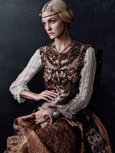Каролин Трентини в Vogue Japan