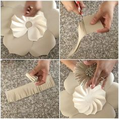 """806 Likes, 22 Comments - Danielle Gonzales (@backdropinabox) on Instagram: """"Here is the last part on how I made this paper flower using my template #1 and with this look you…"""""""