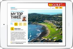 Sports Illustrated Golf Free Tablet Magazine. More on www.magpla.net MagPlanet #TabletMagazine #DigitalMag