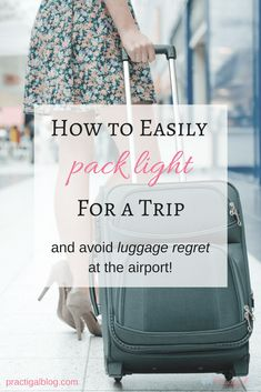 You can fit everything you need for a 10-day trip in a carry-on if you pack smart. When you pack everything in a carry-on, you need to make sure you are only packing the essentials. Use these tips to pack light for your next trip and avoid luggage regret at the airport!