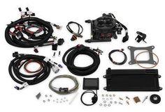 Holley EFI 550-422 TERMINATOR LS TBI KIT - HARD CORE GRAY W/ TRANSMISSION CONTROL