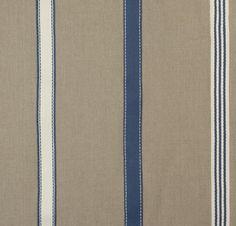Striped fabric / linen - LODGE - Larsen