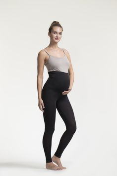 Legging de grossesse noir - Boob design