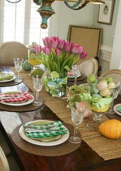 Mesas decoradas con gusto
