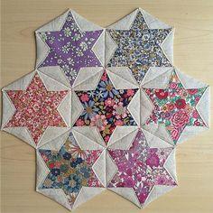 Folded Hexagon Stars - Tutorial