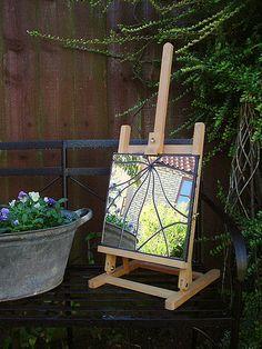 Cracked mirror | Mosaic garden mirror (31 x 31cm / 1' x 1').… | Flickr