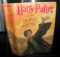 ** Harry Potter and Deathly Hallows J.K Rowling, 2007 Usa edition, prt Young Adult Fiction, Harry Potter Books, Deathly Hallows, Language, Author, Usa, Languages, Writers, Language Arts