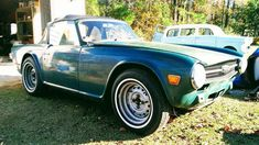 Carl's 1969 Triumph TR6 - AutoShrine Registry