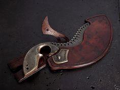 Custom knife 166