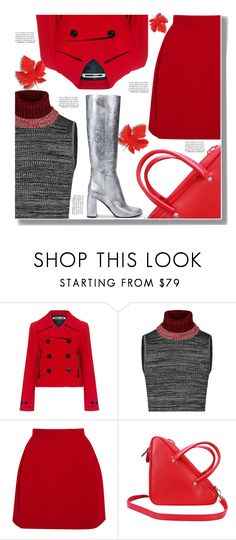 """""""Red Fall"""" by drigomes ❤ liked on Polyvore featuring McQ by Alexander McQueen, Delpozo, Franke and STELLA McCARTNEY"""