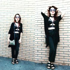 8fd4e7354b5d6 Issey miyake silver holographic bag mermaid style spacegrunge style margot  garage fashion blogger the ragged priest black jeans miu miu sunnies  sublime ...