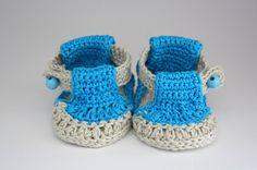Babysandalen von ReLuNi´s Craftstation auf DaWanda.com