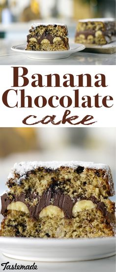 You'll go bananas for this ridiculously moist and fluffy dessert. Dig into a rich chocolate and banana center!