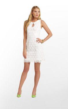 Nicci Dress in Resort White Pinwheel Organza $348 (w/o 2/16/13) #lillypulitzer #fashion #style