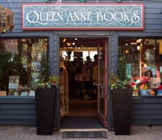 Queen Anne Books in Seattle, Washington has left us for the moment... here's…