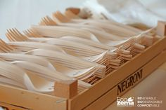 Stoviglie biodegradabili e compostabili Ecozema al TedxVicenza 2016 #TEDx #TEDxVicenza #PlayPauseRestart
