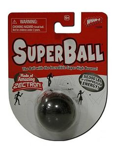 1960s toys - Wham-o SuperBall...had to have these when playing jacks....the foam balls that came with the jacks sucked!!!!