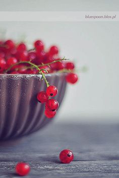 Red currants from By Blue Spoon's photostream #patternpod #beautifulcolor #inspiredbycolor
