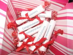 graduation party favors | This has got to be the cutest...and simplest little favor to make. No ...