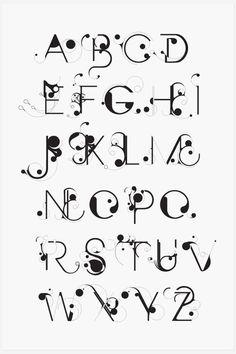 Saved by Erik Erdokozi on Designspiration Discover more Typography Bloob Nouveau Art Numbers inspiration. Alphabet Design, Fonte Alphabet, Hand Lettering Alphabet, Typography Letters, Word Art Fonts, Creative Lettering, Lettering Styles, Lettering Design, Lettering Art