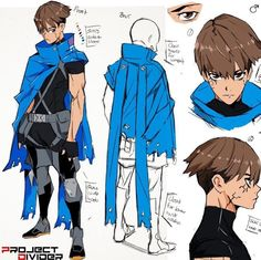 ome revised concept art of Scar. He's one of the main protagonist in chapter zero. I wanted to spend some time redoing his concept art, Character Drawing, Game Character, Character Concept Art, Character Sheet, Fantasy Characters, Anime Characters, Desenhos Cartoon Network, Poses References, Character Creation