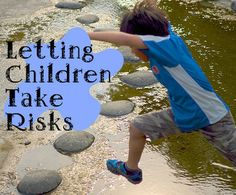 Letting Children Take Risks can cause teachers and parents anxiety but it is very important for development as well. I would use this as a resource for families and to explain why it is important.