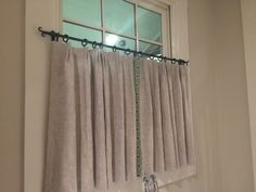 Superb Cafe Curtain Rod, Cafe Iron Rod, Forged Iron Cafe Curtain Rod, Kitchen  Privacy Drapery Rod, Iron Drapery Rod, Privacy Bathroom Rod