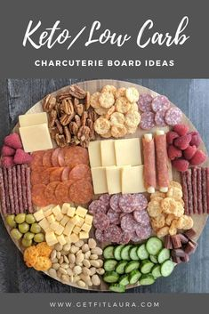Keto Charcuterie Board Ideas.