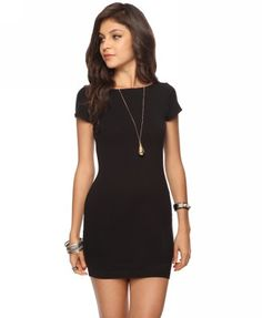 Forever 21, Short Sleeve bodycon Dress. Only $8.50!