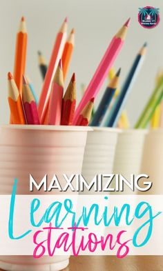 Wondering how to create learning stations? Read these tips for maximizing learning stations with older students to capitalize on differentiation, movement, and ownership. Middle School Ela, Middle School English, High School, Teaching Strategies, Teaching Tips, Teaching Art, English Lesson Plans, Reading Stations, Teaching English