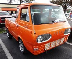 Ford Econoline Pickup the Mid Engine Marvel: 1966 Ford Econoline Pickup Truck