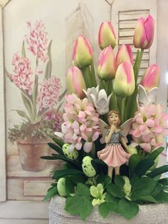 Easter Treats, Diy Home Crafts, Paper Flowers, Floral Arrangements, Projects To Try, Spring, Embellishments, Creativity, Floral Motif