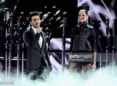 News Photo : Singers Gianluca Ginoble and Il Volo and Natalia...