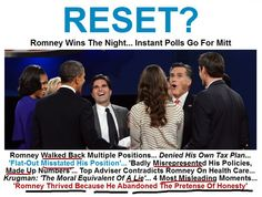 """""""Romney thrived in large part because he abandoned the pretense of honesty.""""  Click pin to read the story... for meme follow this link https://www.facebook.com/photo.php?fbid=431403970229149=a.270826372953577.58142.268707249832156=1"""