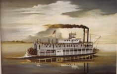 1812- Passenger steamboats begin sailing up the Mississippi River.