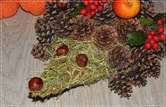 Výsledek obrázku pro ježek ze sena a šišek