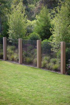 Dune Garden Matthew Cunningham Landscape Design LLC is part of Fence - Backyard Privacy, Backyard Fences, Diy Fence, Hog Wire Fence, Farm Fence, Fenced In Backyard Ideas, Cattle Panel Fence, Outdoor Fencing, Wood Fences