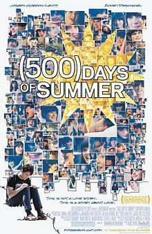 """(500) Days of Summer: """" Just because she likes the same bizzaro crap you do doesn't mean she's your sould mate."""""""