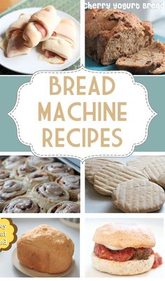 Some of these bread machine recipes might be worth checking out.