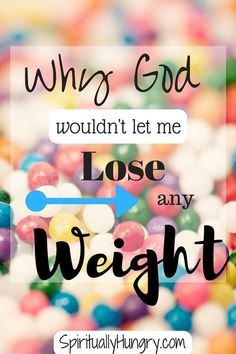 Ever feel like your in an endless cycle of trying to lose weight? I did too, I share in this post my personal testimony about turning to God for my weight loss.