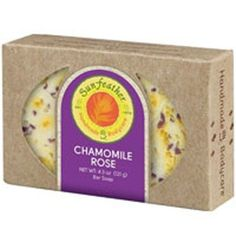 Chamomile Rose Soap 4.3 Oz By Sunfeather